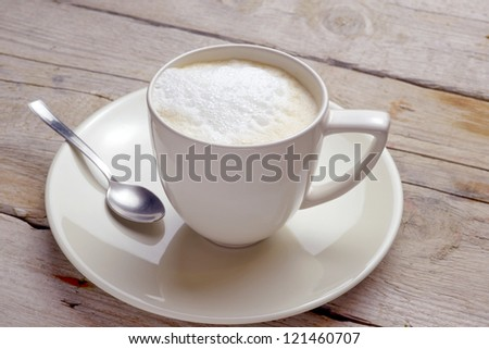 Hot Italian Cappuccino - stock photo