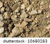 Hot stone background - stock photo