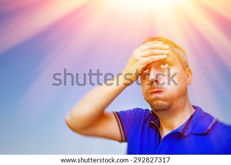 Hot summer day - stock photo