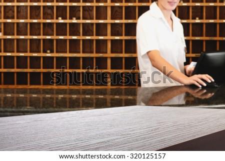 hotel background  - stock photo