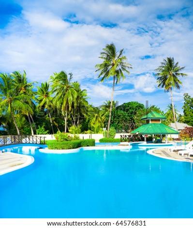 Hotel Concept Luxury - stock photo