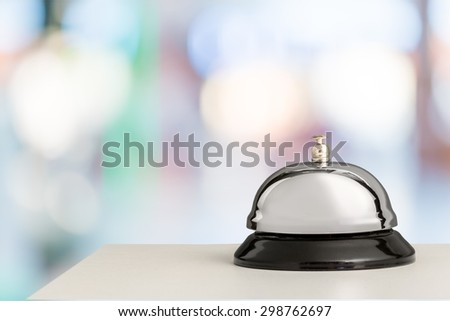 Hotel, Concierge, Service. - stock photo