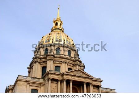 Hotel des Invalides, Paris - stock photo