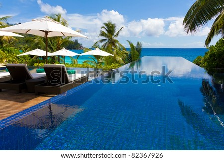 Hotel Rest Exotic - stock photo
