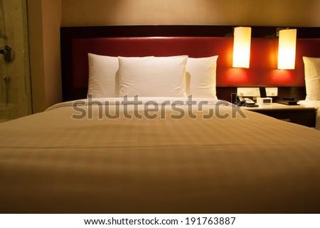Hotel room - stock photo