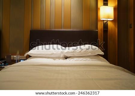 Hotel room Interior. - stock photo