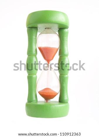 Hourglass - stock photo