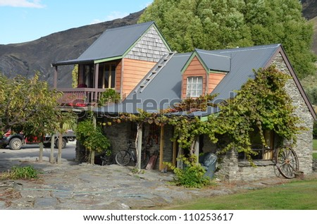 house back countrry - stock photo