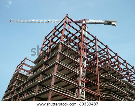house develop at sunny day - stock photo