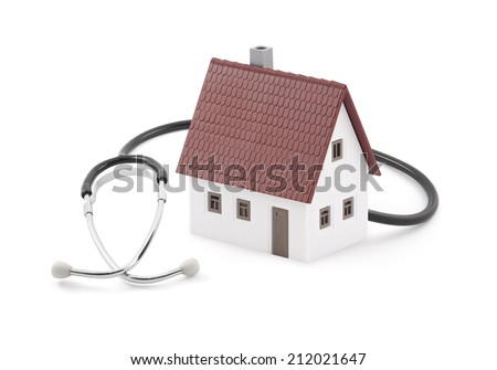 House diagnostics - stock photo
