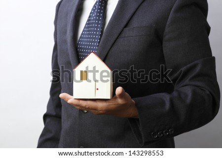 House image - stock photo