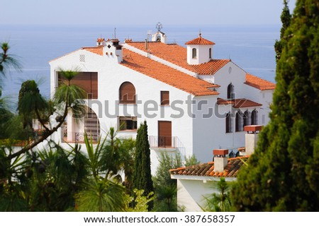 House in Spain - stock photo