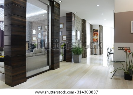 house interior - stock photo