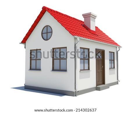 House model - stock photo