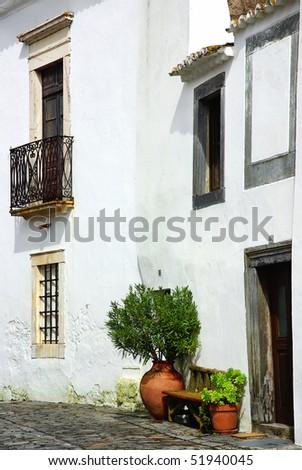 House of Monsaraz village. - stock photo