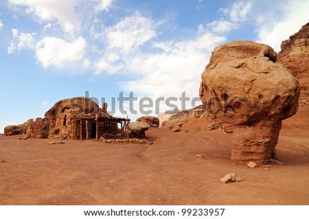 House Rock Valley, Arizona, USA - stock photo