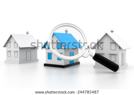 House search - stock photo