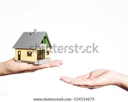 house selling - stock photo