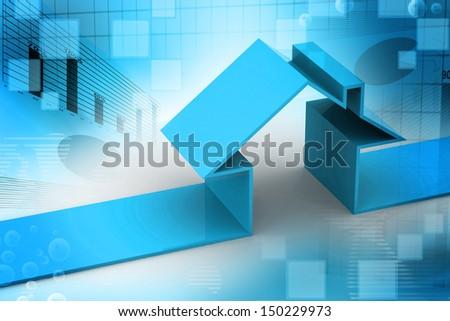 House symbol - stock photo