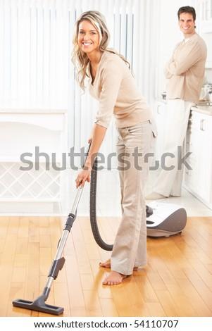 House  work - stock photo