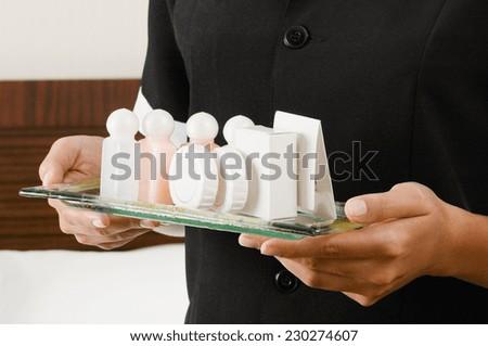 housekeeping  - stock photo