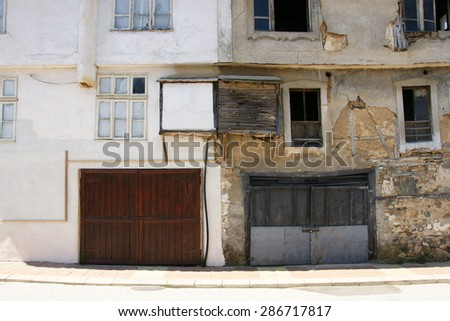 houses of Zlatograd 30 - stock photo