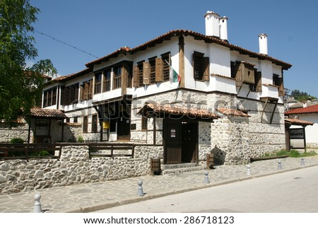 houses of Zlatograd 17 - stock photo