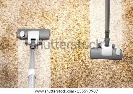 housework - stock photo