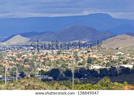 Housing community in Northern Phoenix & Scottsdale,  Arizona - stock photo