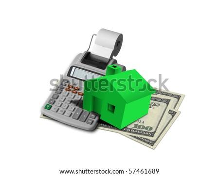 Housing loan - stock photo