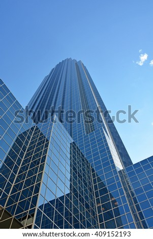 HOUSTON, TEXAS - APRIL 06, 2016: Williams tower in Houston ,Texas - stock photo