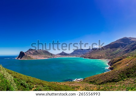 Hout Bay, Cape Town, South Africa - stock photo