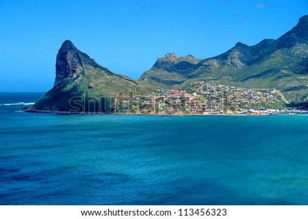 Hout Bay, Table Mountain National Park, South Africa - stock photo
