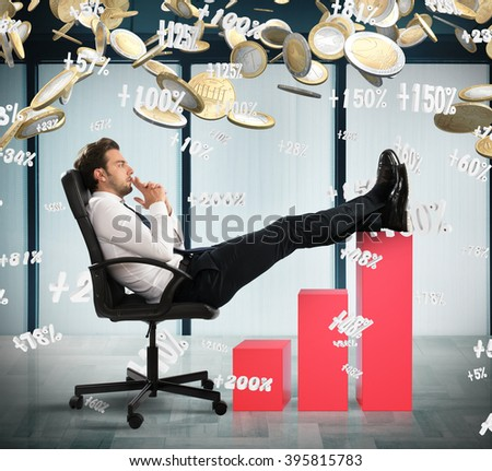 How to make more money - stock photo