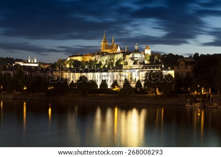 Hradcany in Prague, Czech Republic - stock photo
