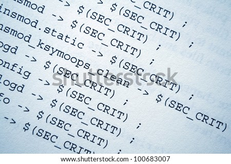html source codes - stock photo