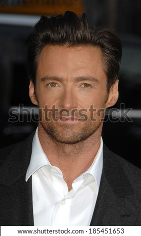Hugh Jackman at LA Premiere of XMEN ORGINS WOLVERINE, Grauman's Chinese Theatre, Los Angeles, CA April 28, 2009 - stock photo