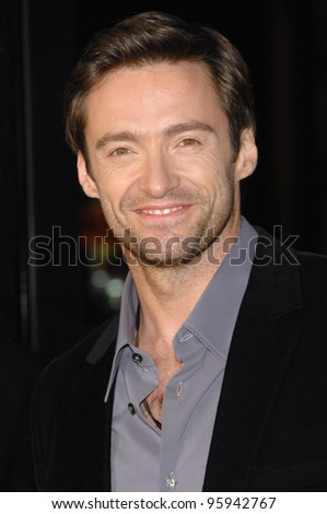 "HUGH JACKMAN at the US premiere of his new movie ""The Fountain"" at Grauman's Chinese Theatre, Hollywood. November 11, 2006  Los Angeles, CA Picture: Paul Smith / Featureflash - stock photo"