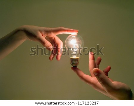 human energy - stock photo