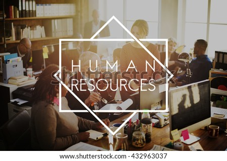 Human Resources Career Employment Expertise Concept - stock photo