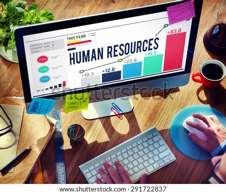 Human Resources Career Hiring Profession Concept - stock photo