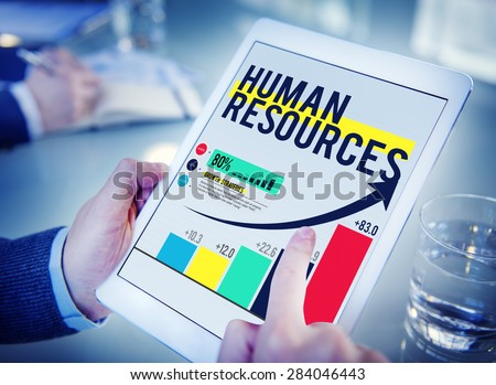Human Resources Hiring Job Accupation Concept - stock photo