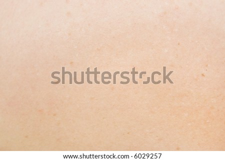 Human skin. Texture or background. - stock photo