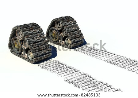 humanity's future path concept; - stock photo