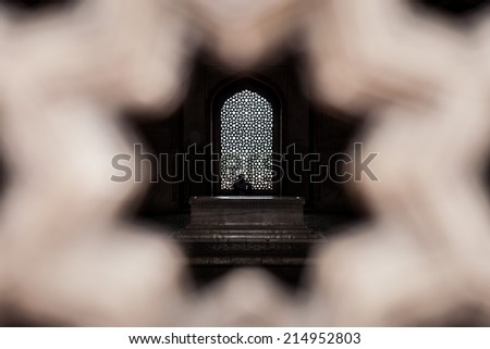 Humayun's Tomb complex, New Delhi, India  - stock photo