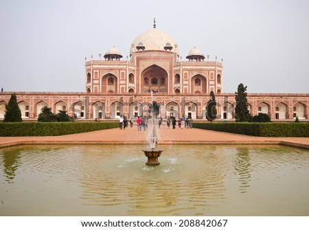 humayuns tomb  - stock photo