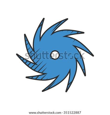 Hurricane icon. Hurricane icon vector. Hurricane icon simple. Hurricane icon app. Hurricane icon web. Hurricane icon logo. Hurricane icon sign.Hurricane icon ui.Hurricane icon flat.Hurricane icon eps. - stock photo