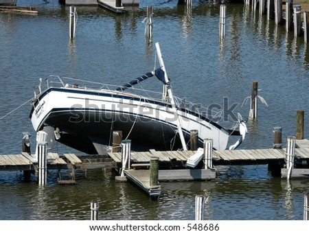 Hurricane Katrina 32 - stock photo