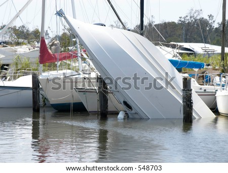 Hurricane Katrina 20 - stock photo