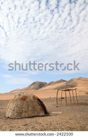 Hut - stock photo